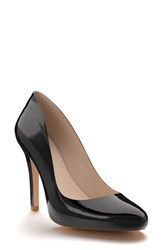 Shoes Of Prey Women's Round Toe Pump Black Patent