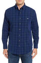 Vineyard Vines Men's Yule Plaid Corduroy Sport Shirt