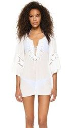 L Space Chase The Sun Breakaway Cover Up Ivory