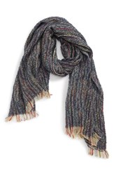 Sole Society Speckled Knit Scarf Multi