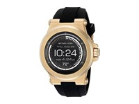 Michael Kors Access Dylan Display Smartwatch Mkt5009 Black Silicone Gold Tone Watches