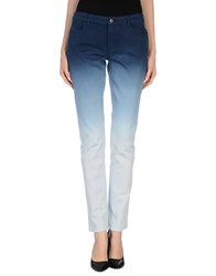 Givenchy Denim Denim Trousers Women Dark Blue