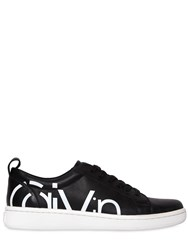 Calvin Klein Jeans 20Mm Danya Leather Sneakers