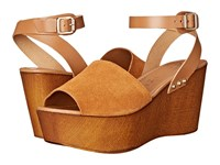 Seychelles Forward Cognac Women's Wedge Shoes Tan