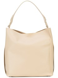 Allsaints All Saints Large Shopping Tote Nude And Neutrals