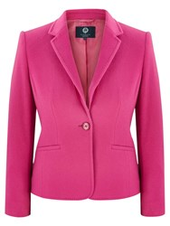 Viyella Petite Wool Blend Teddy Jacket Pink