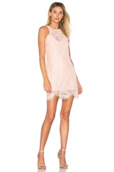 Lovers Friends Sky Shift Dress Coral