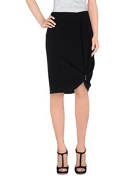 Max Mara Skirts Knee Length Skirts Women Black