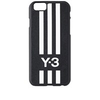 Y 3 Logo Stripes Iphone 6 Case Black