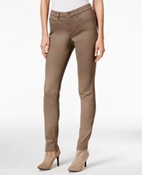 Styleandco. Style Co. Curvy Fit Colored Wash Skinny Jeans Only At Macy's Warm Taupe