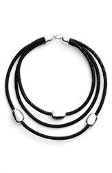 Simon Sebbag Women's Suede Multistrand Necklace
