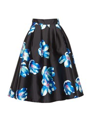 Cutie Floral Skirt Black