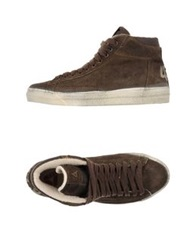 Cycle High Tops And Trainers Dark Brown