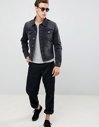 Selected Homme Blue Washed Grey Jacket