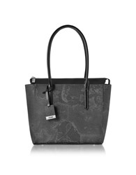 Alviero Martini 1A Classe Handbags Medium Geo Black Tote