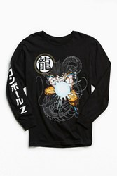 Urban Outfitters Dragon Ball Z Long Sleeve Tee Black