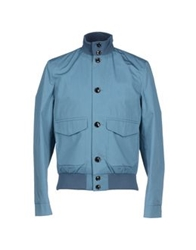 Hardy Amies Jackets Pastel Blue