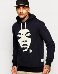 Supreme Being Supremebeing Hoodie With Face Logo Black