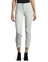 7 For All Mankind The Ankle Skinny Jeans Mint