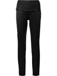 Moschino Slim Fit Trousers Black