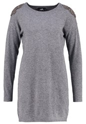 Wallis Jumper Dress Grey
