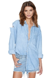 Nasty Gal After Party Vintage Edgefield Shirt