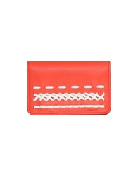 Tod's Coin Purses Red