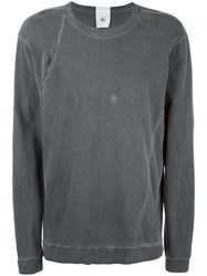 Lost And Found Rooms Crew Neck Sweatshirt Grey