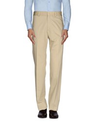 Calvin Klein Collection Trousers Casual Trousers Men Beige