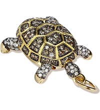Annoushka Mythology 18Ct Yellow Gold And Diamond Baby Turtle Amulet