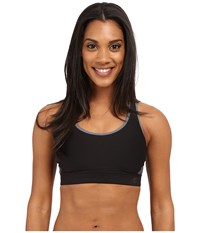 Champion The Great Divide Black Medium Grey Women's Bra