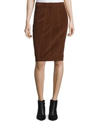 Derek Lam Corduroy Pencil Skirt Vicuna