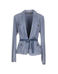 Siviglia Suits And Jackets Blazers Women Pastel Blue