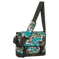 The North Face Base Camp Small Messenger Bag Camo Green Grey