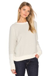 Shae Dot Crew Neck Sweater Light Gray