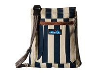 Kavu Keepalong Nautical Stripe Bags Blue