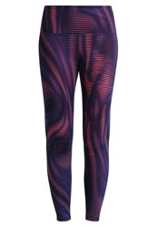 Gap Gfast Tights Moire Shine Pink