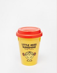 Little Miss Sunshine Travel Mug 300Ml Yellow