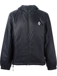 Marcelo Burlon County Of Milan Hooded Windbreaker Black