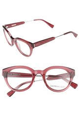 Derek Lam Women's 47Mm Optical Glasses Dark Pink