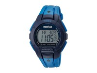 Timex Ironman Essential 10 Full Size Resin Strap Blue Black Watches