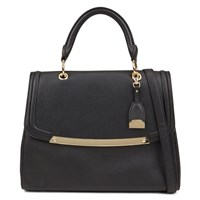 Aldo Method Satchel Handbag Black