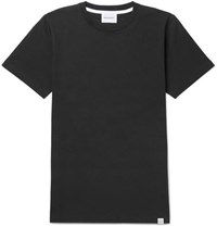 Norse Projects Niels Cotton Jersey T Shirt Black