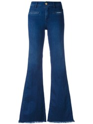 Don't Cry Flared Jeans Blue