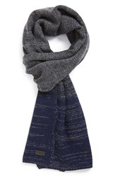 Men's John Varvatos Star Usa Ombre Wool And Cashmere Scarf