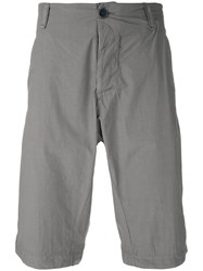 Transit Tailored Deck Shorts Grey