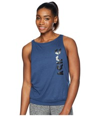 Asics Muscle Tank Top Dark Blue Sleeveless