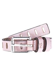 Tom Tailor Denim Belt Rose Metallic