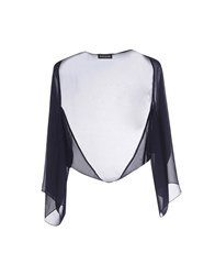 Diana Gallesi Topwear Shrugs Women Dark Blue