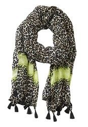 Betty Barclay Long Animal Print Scarf Multi Coloured Multi Coloured